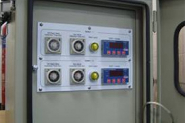 Fig 3 .Display/Alarm and Control units